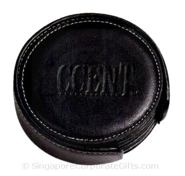 Exclusive Leather Coaster (6 pcs)