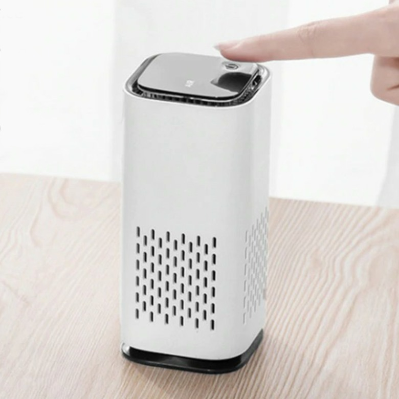 Anion Air Purifier with HEPA and Activated Carbon Filter