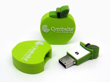 Apple Shaped  Thumbdrive  4GB