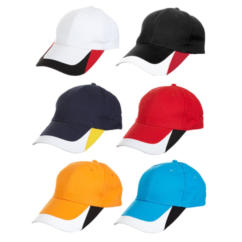 Baseball Cotton Brush Cap (6 Panels)