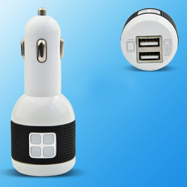 Car Adaptor with dual USB output