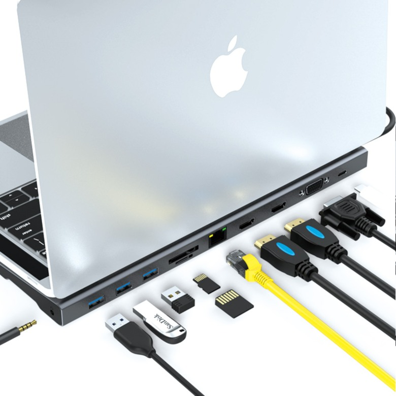11 in 1 USB Docking station