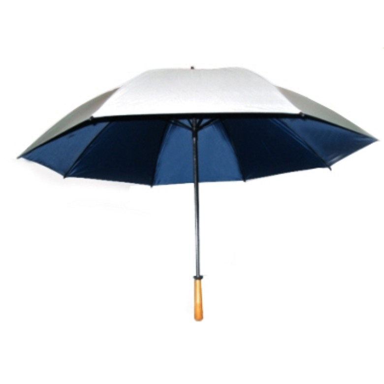 "Golf Umbrella with Real Wooden Handle (30"")"