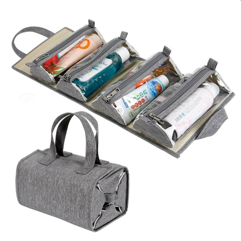 Hanging Roll-up Toiletry Bag