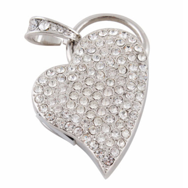 Jewellery Thumbdrive - Heart 2 (4 G)