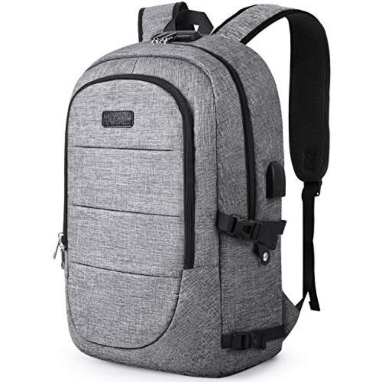Laptop Backpack with USB and Lock