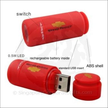 USB Mini Rechargable Torch Light