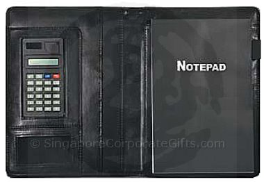 A4 Folder with Note Pad and Calculator 3