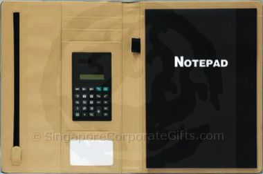 A4 Folder with Note Pad and Calculator 7