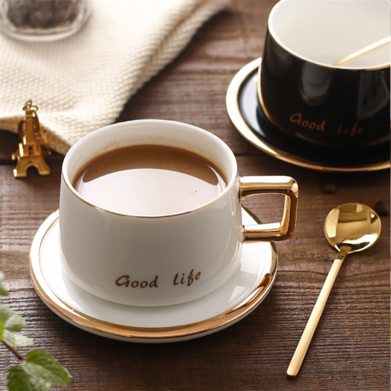 Fine Porcelain Coffee Cup