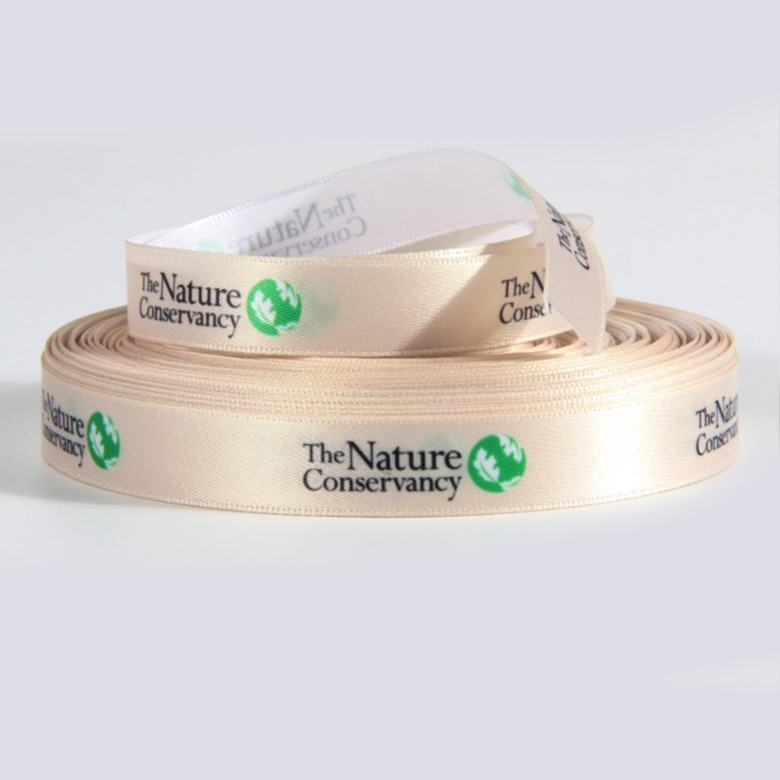 Satin Acetate Ribbon with Single side Print