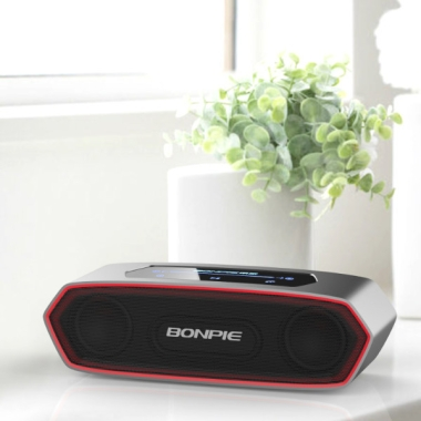 Stereo Bluetooth Speaker with Slide Volume control