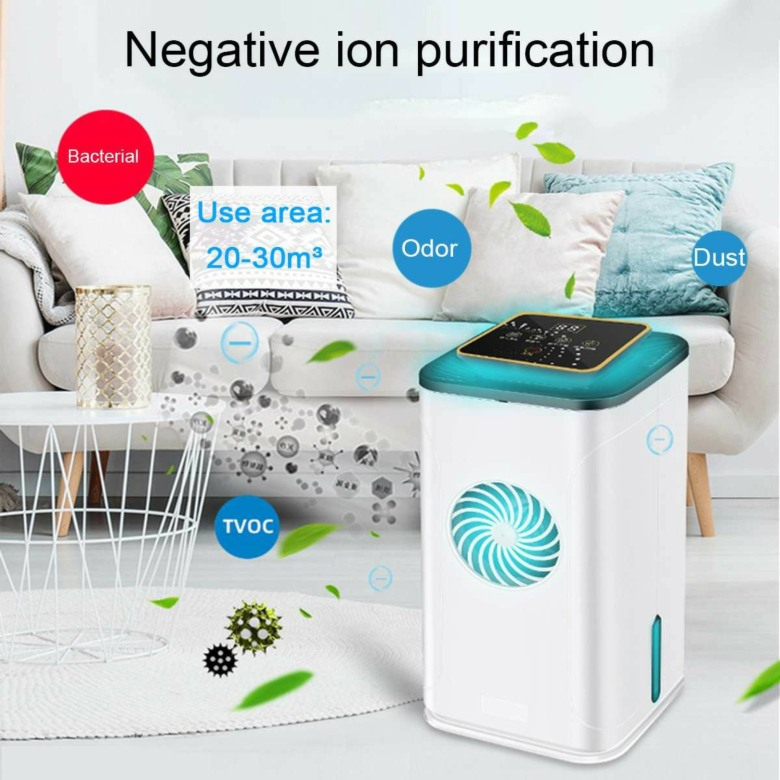 Air Purifier with UV, Anion and HEPA Filter
