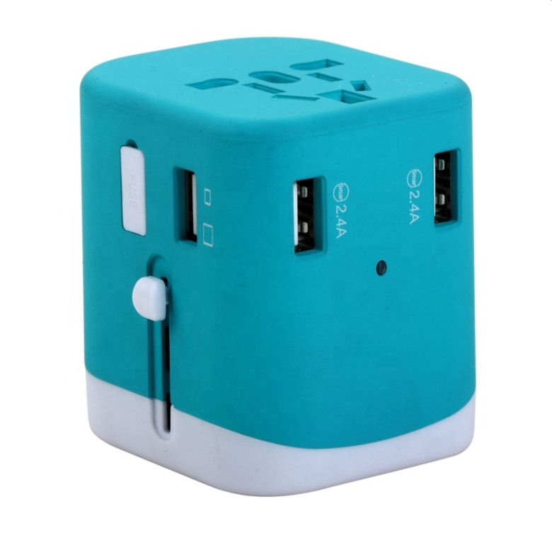 Universal Adaptor With 4 USB Ports