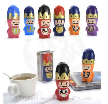Mini Cartoon Fan- Nutcracker