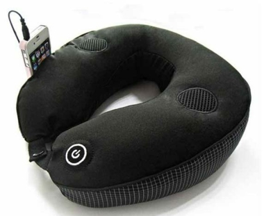 Neck Massager With Built-in Speaker